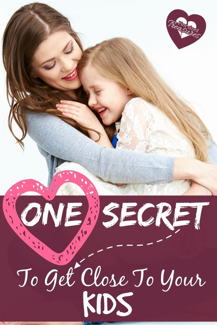 If there's one secret every parent should know about cultivating a close relationship with their kids, this one is it. Whatever you do, don't miss THIS parenting tip! Enjoy your mom journey --- and enjoy raising your kids!