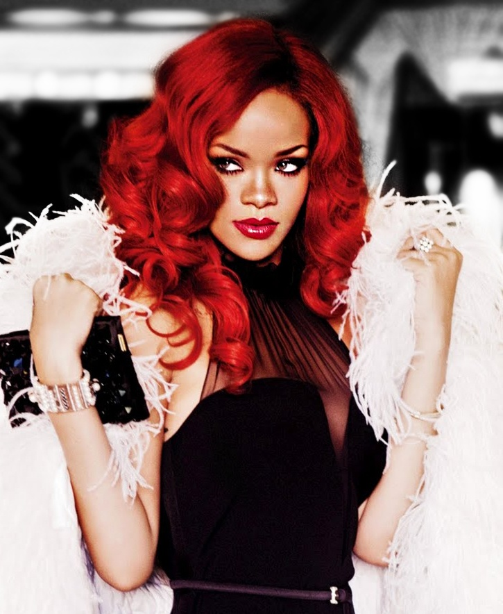Pin by Janelle Gonzales on People | Rihanna hairstyles