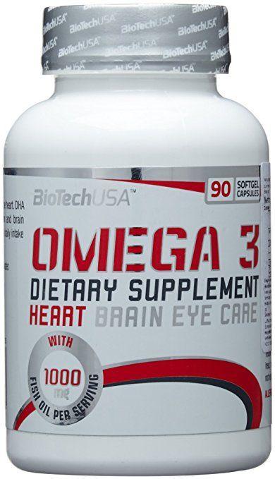 BioTech USA Omega 3 90 Kapseln, 1er Pack (1 x 81.6 g)