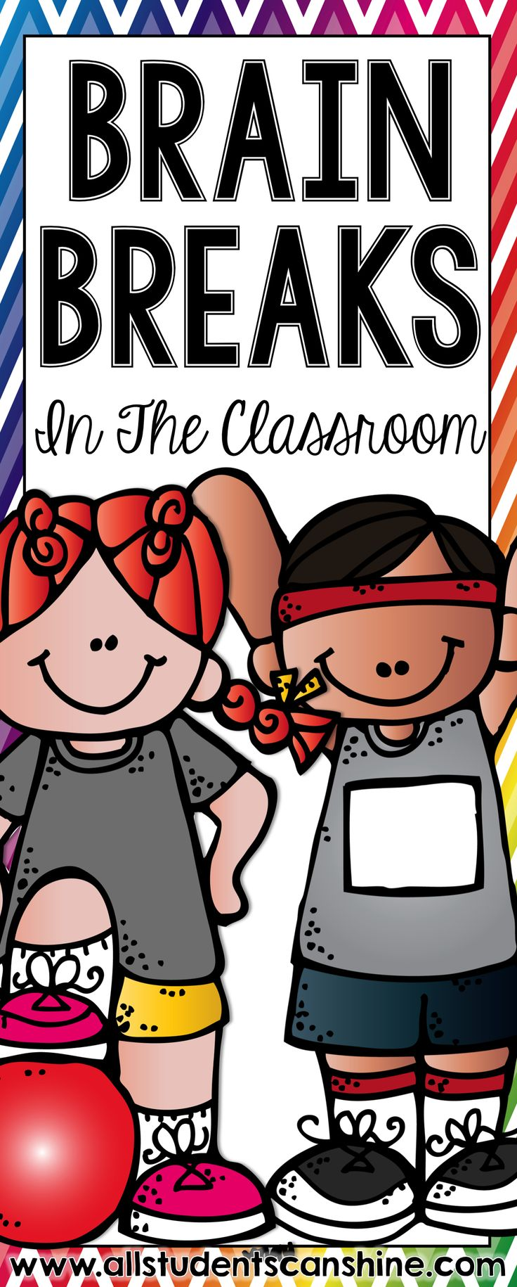 Brain breaks in the classroom. This blog post is PACKED with tips and ideas for making brain breaks successful in your classroom!