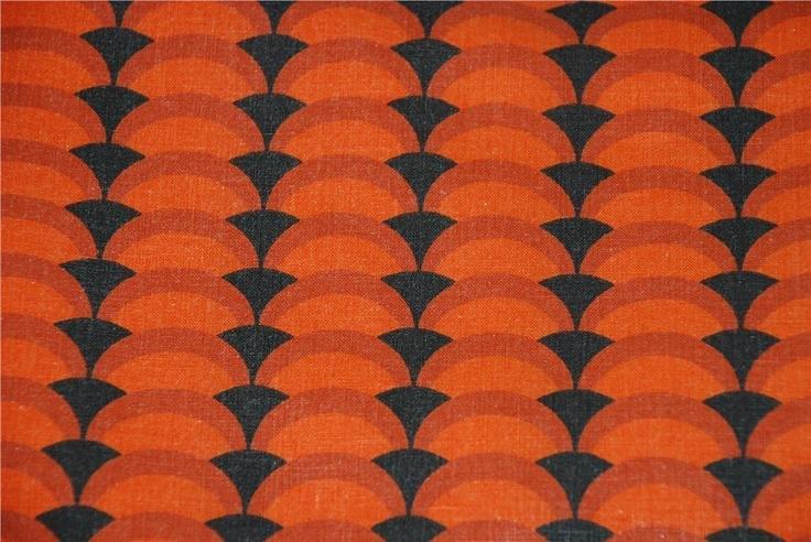 Retro 2 x påslakan tyg 60-tal/70-tal på Tradera. Övrigt | Sängkläder |