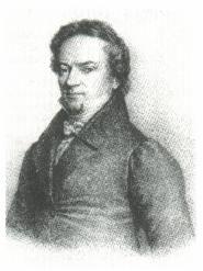 Senator Dr. Franz Friedrich Droste um 1840 und 1820