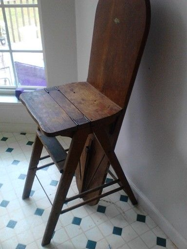 Antique Ironing Board 3 In One Ironing Board Step Stool