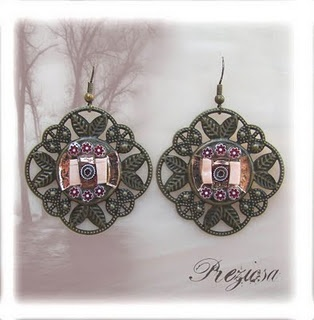 Vintage passion earrings