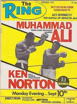 MUHAMMAD ALI KEN NORTON WORLD HEAVYWEIGHT CHAMP VINTAGE THE RING BOXING MAGAZINE