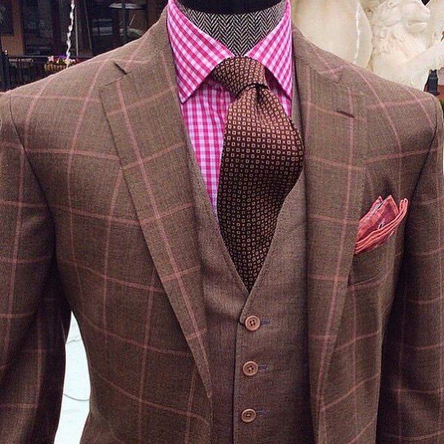 Men's style inspiration - suits - ties - pocket squares
