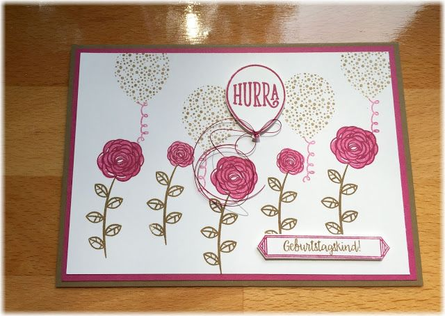 incolors, stampin up, Alles Liebe Geburtstagskind
