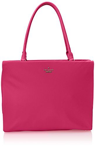 kate spade new york Classic Nylon Phoebe Shoulder Bag, Sweetheart Pink, One Size