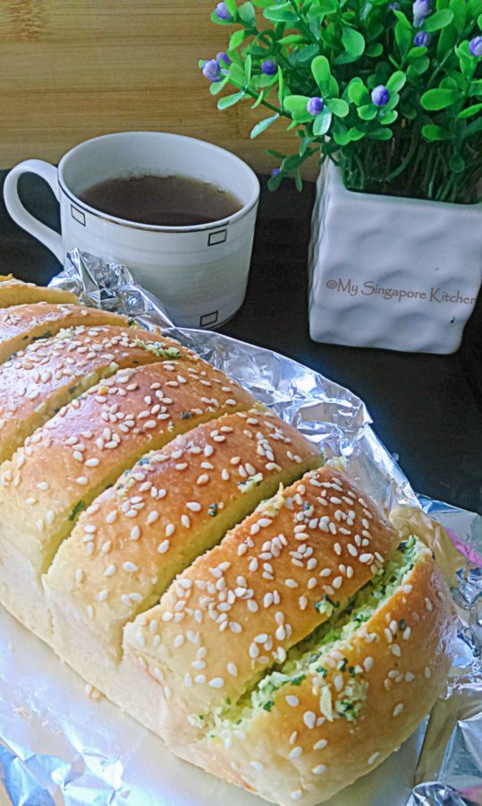 My Singapore Kitchen........: Garlic Bread | Garlic bread ...