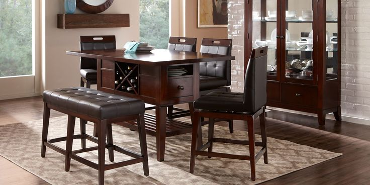 Julian Place 6 Pc Dining Room Dining Room Sets Dining Room Design Dining Room Furniture
