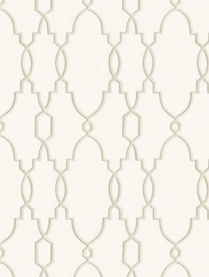 Parterre  in stone, a feature wallpaper from Cole and Son, featured in the Folie collection.