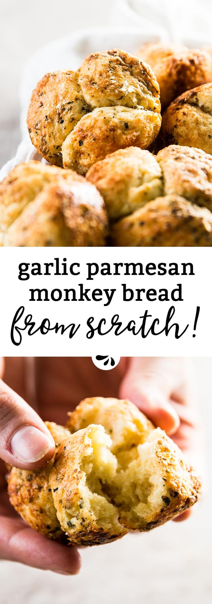 This Homemade Mini Garlic Parmesan Monkey Bread recipe is super simple, yet makes the most delicious little garlic breads! Serve them along a special dinner party or as part of a backyard BBQ or summer potluck - everyone will ask you for the recipe! The homemade biscuit dough comes together in a few easy steps. Then it gets coated in the most amazing garlic herb butter and in plenty of parmesan cheese.  These are perfectly portioned to feed a crowd. You'll probably need to make a double…
