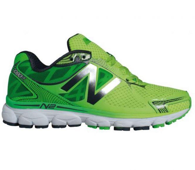 New Balance - Chaussures de running Cushion 1080 D V5 pour Hommes (vert)