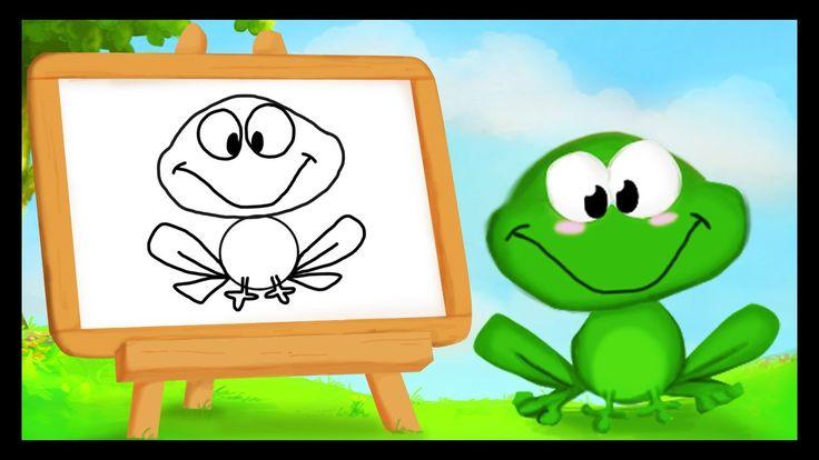 Comment dessiner une grenouille ?