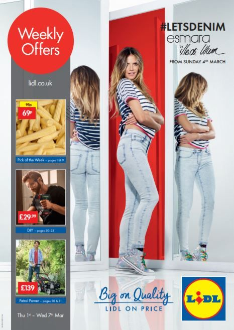 3ece79f14815 LIDL Offers Leaflet 1st-7th March 2018