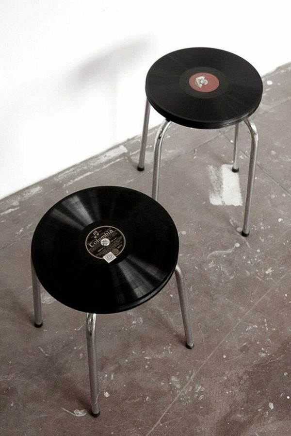Deco records two creative coffee tables