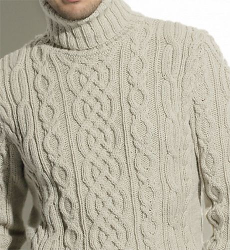 Ravelry: pull irlandais homme modèle 9 pattern by Phildar Design Team