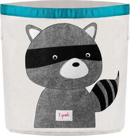 3 Sprouts Корзина для хранения детская Енот  — 2499р. ---------- Наши милые корзины для хранения игрушек помогут Вам навести порядок в детской. Размер корзины позволяет хранить в ней игрушки, книжки или белье. Корзины легко складываются, когда в их использовании нет необходимости, тем самым сохраняя простор вашего дома. Корзина для хранения вещей 3 Sprouts – идеальный подарок для новорожденных, младенцев и детей.