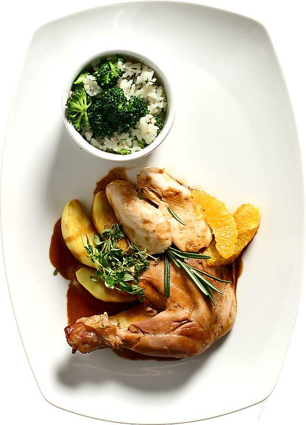 Kyckling med apelsinsås | Recept från Köket.se