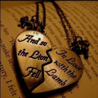 Quote Quote Quote - quote: In Love, Engagement Gifts, Lion Fell, Twilightsaga, Twilight Saga, Necklaces, Lamb, Favorite Quotes, Twilight Quotes