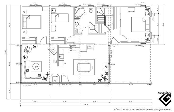 24 best Plan de chalet images on Pinterest Arquitetura, Cottage