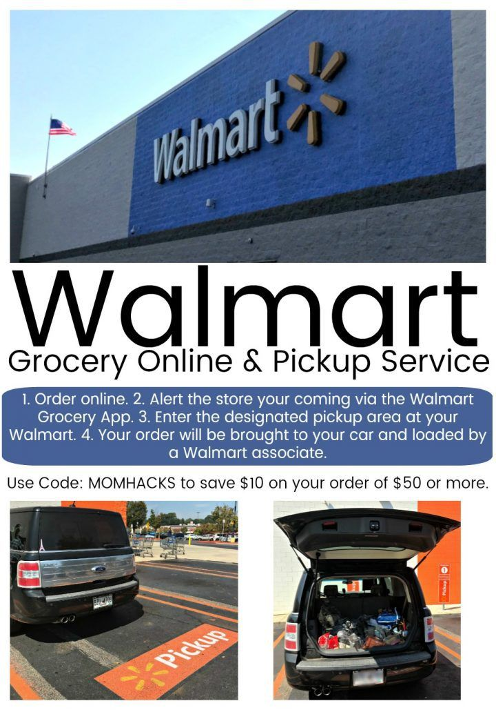 Walmart Grocery Gives Curbside Delivery Right to Your Car ~ DivineLifestyle.com ~ #ad  #WalmartGrocery ~ Use code MOMHACKS to get $10 off of a $50 purchase