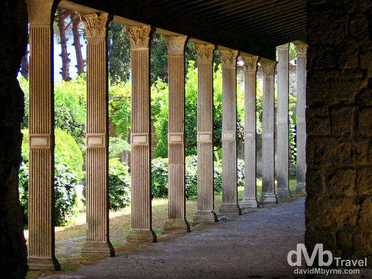 Pompeii, Italy | dMb Travel - Travel with davidMbyrne.com