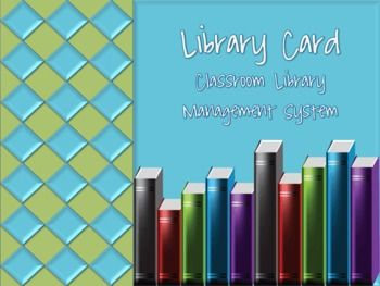 This is a fun and interactive way to manage and organize your classroom library for the new school year!This product includes:* Tips and sugg...
