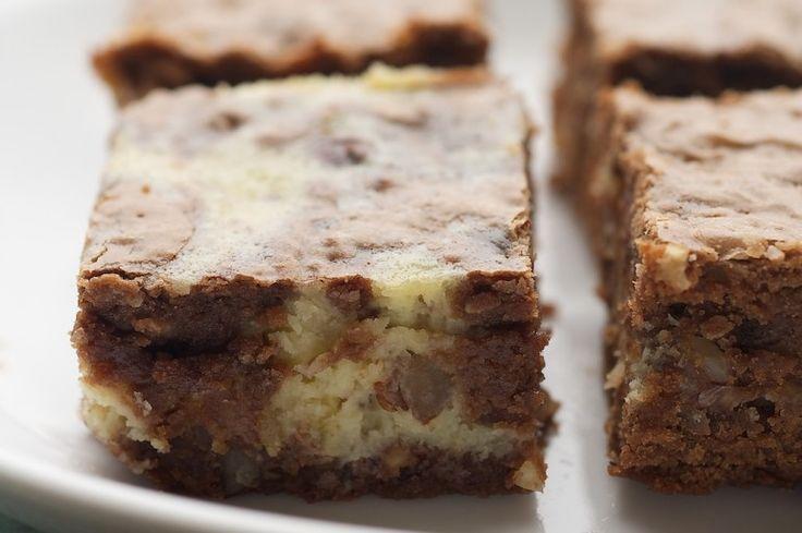Hazelnut Cream Cheese Brownies | Bake or Break