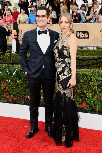The Cutest Couples at the 2016 SAG Awards | Ty and Holly Burrell