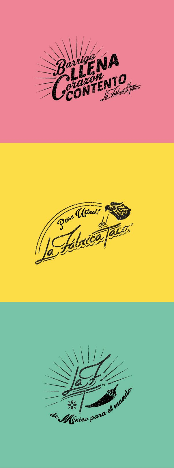 La Fábrica del Taco on Behance