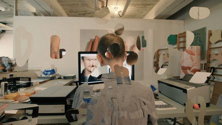 Lucas Blalock — still from ART 21's Lucas Blalock's Digital Toolkit