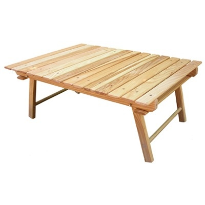 Blue Ridge Chair Works Carolina Packable Snack Picnic Table - CSTB08W
