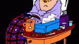 Τι έκανε η θεία Ευλαμπία όταν είχε γρίπη;
