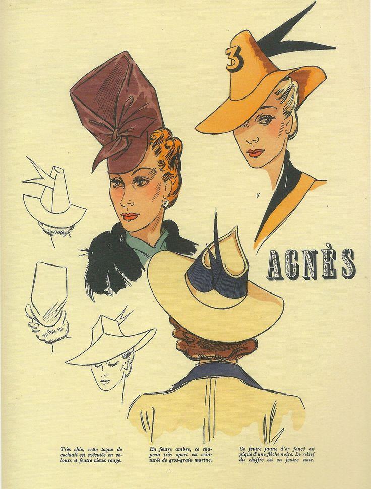 Illustrated Ladies (fantomas-en-cavale: Chapeaux par Agnès, Les...)