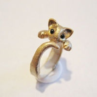 The Purrfect Ring by Artistieke on Etsy