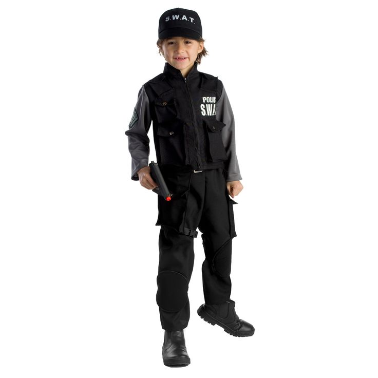 dress up america boys jr swat team costume by dress up america - Swat Costumes For Halloween