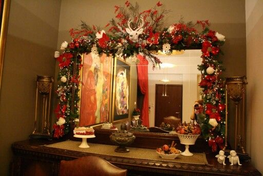 Christmas decoration home