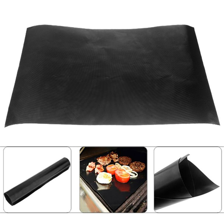 Teflon Barbecue Grill Mat for Microwave Oven Outdoor BBQ Accessories - 400 x 330mm #Affiliate