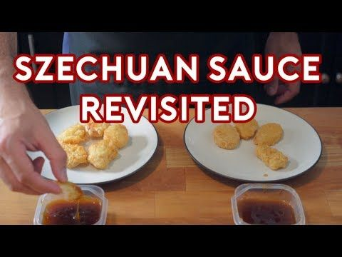 A neat TV food YouTube channel - Binging with Babish: Szechuan Sauce Revisited (From Real Sample!) - YouTube