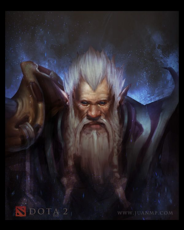 Lone Druid by KaizenDesign on DeviantArt