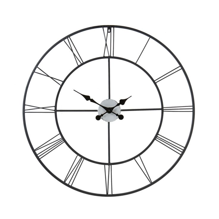 AmazonSmile - SEI Centurian Decorative Wall Clock - Wall Clocks Contemporary