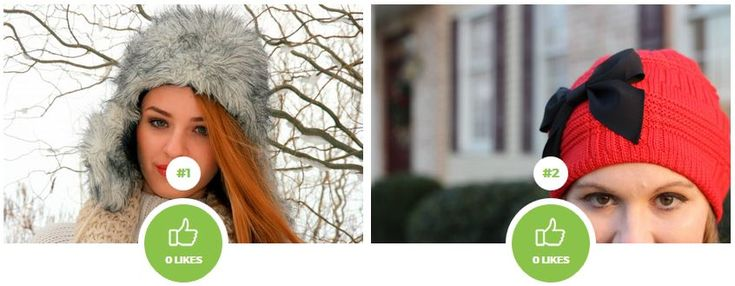 Which winter hat is more pretty and design?