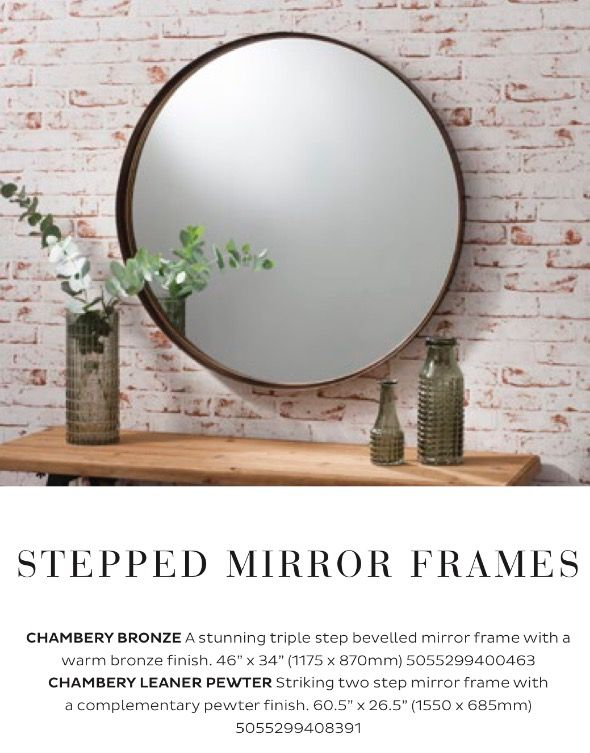 Mirror for over sidebaord