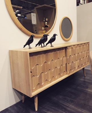 #Scarpa sideboard at Maison&object in Paris