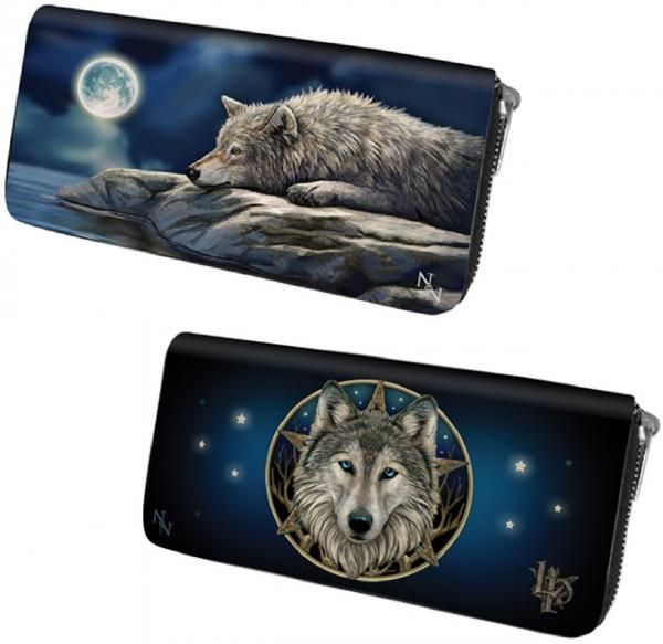 NEW ANNE STOKES LISA PARKER GOTHIC LADIES LONG ZIP PURSE WALLET BAG CARD HOLDER. 15,17e