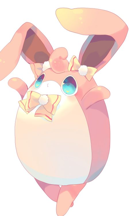 My Wigglytuff, Puffball. Puffball is one of the silliest and cutest pokemon I have, even though she's hasty and stubborn at times. Puffball is a Level 50 so far, and she also just loves to be in the spotlight. ;p
