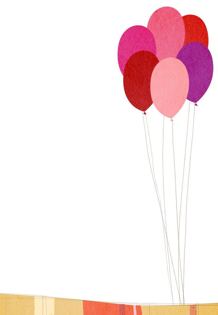 Printable Birthday Balloons ~ Free printable birthday balloons invitation kid s party pinterest birthdays balloon