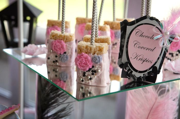 pink paris themed baby shower with so many really cute ideas via kara