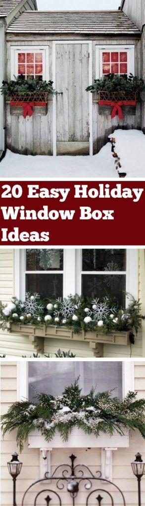 Best 25+ Winter window boxes ideas on Pinterest